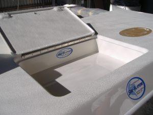 Swim Platform Boating Accessory (Storage Area & Moldings)